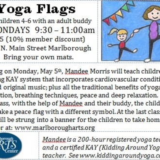 Yoga Flags Class – for children 4-6