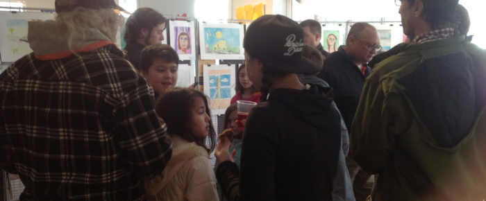 Opening Receptions of the Annual Students' Art Show Photos