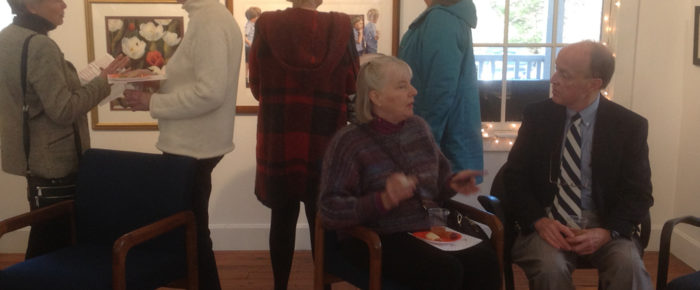 Photos from the Opening Reception of the CT Watercolor Society's Autumn Exhibition at MAC