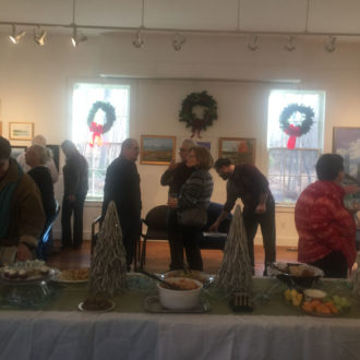 Member Artists Show's Reception Photos