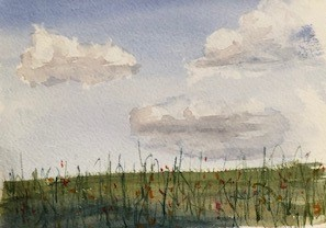 Student Watercolor Paintings from Mary Horrigan's Recent Classes