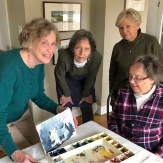 Watercolor classes with Mary Horrigan now forming